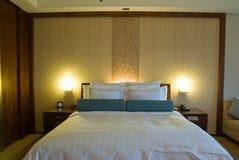 Camera di albergo di Ritz-Carlton Fotografie Stock