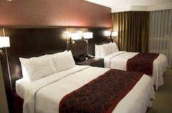 Camera di albergo elegante Fotografia Stock Libera da Diritti