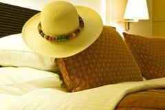 Camera di albergo lussuosa Fotografia Stock