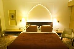 Camera di albergo lussuosa Immagini Stock