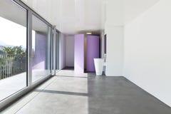 Camera di albergo moderna Fotografia Stock