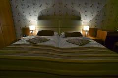 Camera di albergo moderna Fotografie Stock