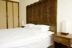 Camera di albergo orientale Immagine Stock