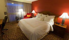 Camera di albergo piacevole Fotografia Stock Libera da Diritti