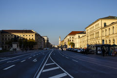Camera di Annast a Monaco di Baviera a Odeosplatz, Germania, 2015 Immagini Stock Libere da Diritti