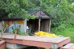 Camera di barca rustica Fotografie Stock Libere da Diritti