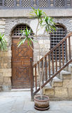 Camera di Beit El Set Waseela Waseela Hanem, Il Cairo medievale, Egitto immagini stock