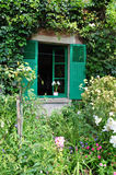 Camera di Claude Monet in Giverny Fotografia Stock