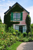 Camera di Claude Monet in Giverny Fotografia Stock Libera da Diritti