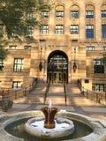 Camera di corte storica della contea di Maricopa Immagini Stock Libere da Diritti