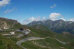 Camera di Fuschertoerl, alta strada alpina di Grossglockner, Austria Fotografia Stock