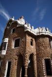 Camera di Gaudi in Parc Guell Fotografia Stock