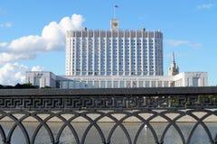 Camera di governo della Federazione Russa Fotografia Stock
