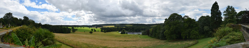 Camera di Harewood, Leeds, West Yorkshire, Regno Unito Fotografie Stock