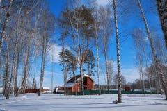 Camera di inverno Fotografie Stock Libere da Diritti