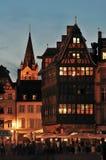 Camera di Kammerzell - più vecchia casa di Strasburgo Immagine Stock