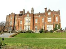 Camera di Latimer un palazzo stile Tudor, Latimer, Buckinghamshire fotografia stock