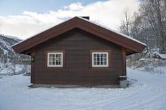 Camera di legno Fotografia Stock