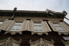 Camera di legno Irkutsk Fotografie Stock Libere da Diritti