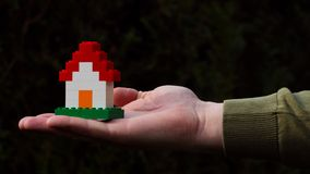 Camera di Lego Fotografia Stock