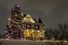 Camera di Natale immagini stock