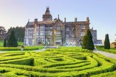 Camera di palazzo di Adare - Irlanda. Immagine Stock