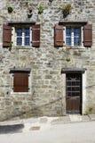 Camera di pietra Mediterranea Immagine Stock