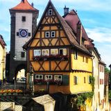 Camera di Rothenburg fotografia stock