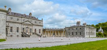 Camera di Russborough, contea Wicklow, Irlanda immagine stock libera da diritti
