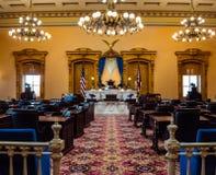 Camera di senato dell'Ohio Fotografie Stock Libere da Diritti