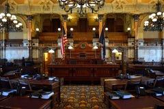 Camera di senato dello stato di Kansas Immagini Stock