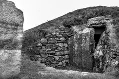 Camera di sepoltura su Angelsey Galles Fotografie Stock Libere da Diritti