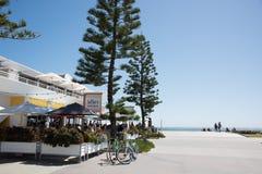 Camera di spiaggia del ` s del bagnante del Oceanfront Fotografia Stock