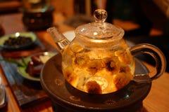 Camera di tè cinese Fotografia Stock Libera da Diritti