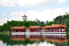 Camera di tè, giardino cinese Immagini Stock Libere da Diritti