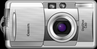 Camera, Digital Camera, Cameras & Optics, Camera Lens Stock Image