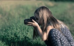 Camera, Digital, Equipment Royalty Free Stock Photos