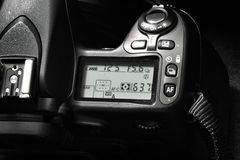 Camera for Digital Photography Controls Dials stock photography