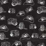 Camera Doodle Illustration Royalty Free Stock Photography