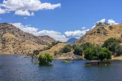 Camera dopo la tempesta, lago Kaweah, Tulare California fotografie stock libere da diritti