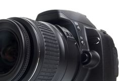 Camera DSLR royalty-vrije stock afbeelding