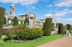 Camera e giardini di Bowood Immagini Stock