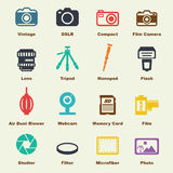 Camera elements Stock Photos