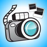 Camera en foto's Stock Afbeeldingen