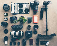 Camera equipment Stock Photos