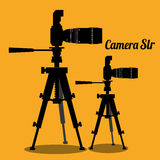 Camera equipment design Stock Photography