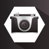Camera equipment design Royalty Free Stock Photo