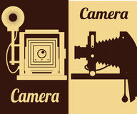 Camera equipment design Royalty Free Stock Image