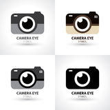 Camera eye symbol icon Stock Photos