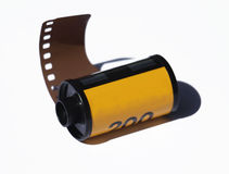 Camera film. Roll with shadow Royalty Free Stock Images